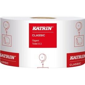 Katrin S2 Gigant Classic Toiletpapir, 2-lags, hvid