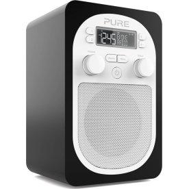 Pure Radio Evoke D1 med FM/DAB/DAB+, sort