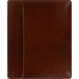 Filofax Lockwood A5 Zip Kalenderomslag, cognac
