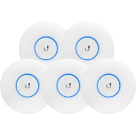 Ubiquiti UAP-AC-LITE Dual Radio Access Point 5-pak
