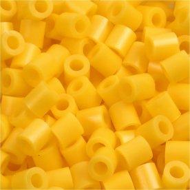 Nabbi Rørperler, 1100 stk, gul (14)