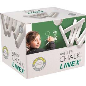 Linex Tavlekridt, 100 stk, hvid