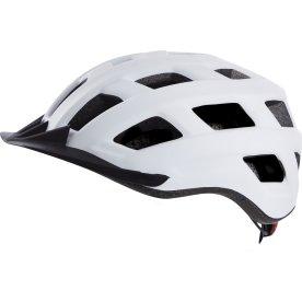 Cykelhjelm urban baglygte l hvid