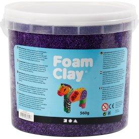 Foam Clay Modellervoks, 560 g, lilla