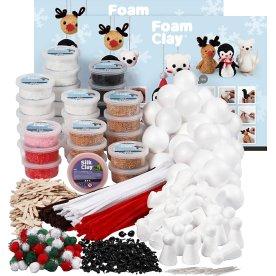 Foam Clay Modellervoks Klassesæk, polardyr