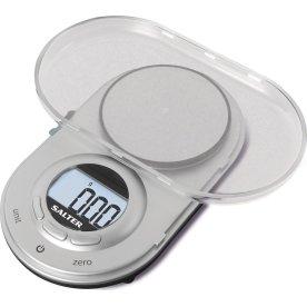 Salter digital køkken præcisionsvægt, grå