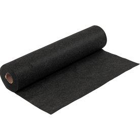 Meleret Hobbyfilt i rulle, 45cm x 5m, sort