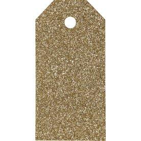 ViviGade Manillamærker 5x10cm, 15stk, glitter guld