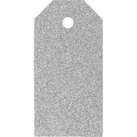 ViviGade Manillamærker 5x10cm, 15stk, glitter sølv