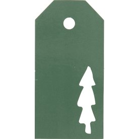 Vivi Gade Manillamærker, 5x10 cm, 15 stk, grøn