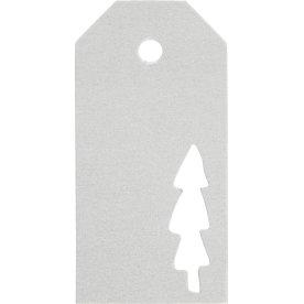 Vivi Gade Manillamærker, 5x10 cm, 15 stk, sølv