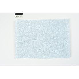 Hobbyfilt m/glimmer, A4, 10 ark, lys blå