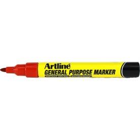 Artline General Purpose Marker, rød