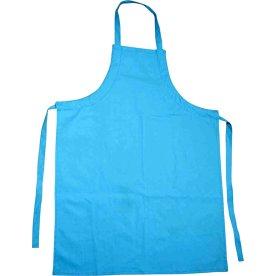 Børneforklæde, str. 55x70 cm, blå