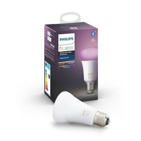 """Philips HUE E27 """"""""atmosfærelys"""""""" pære, hvid+farvet"""