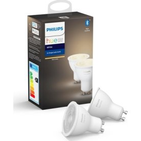 Philips HUE 6W GU10 spotpære, bluetooth, 2-pak