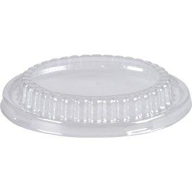 Låg til Alu-form rund, plast