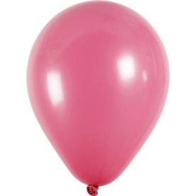 Balloner, pink, 10 stk