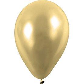Balloner, guld, 8 stk