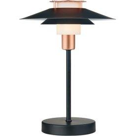 Rivoli Bordlampe, Ø24 cm, Sort/Kobber
