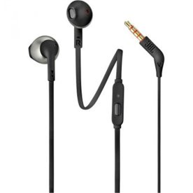 JBL T205 in-ear høretelefoner, sort