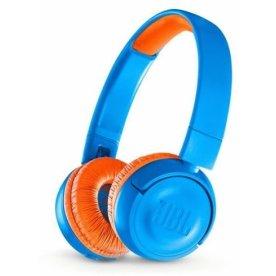 JBL JR300 on-ear høretelefoner, orange/blå