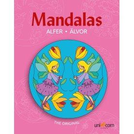 Mandalas malebog Eventyrlige alfer