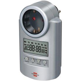 Brennenstuhl timer – 240V timer, grå