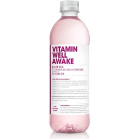 Vitamin Well Awake Hindbær 0,5 L