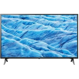 "LG 49UM7100PLB 49"" 4K Smart TV, sort"
