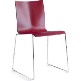 Chairik 101 stabelstol, Rød