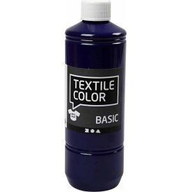 Tekstilmaling, 500 ml, brilliant blå