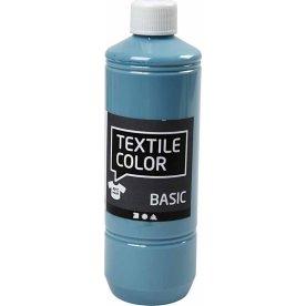 Tekstilmaling, 500 ml, dueblå
