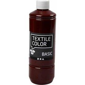 Tekstilmaling, 500 ml, brun