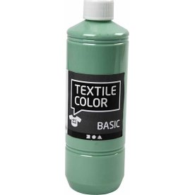 Tekstilmaling, 500 ml, søgrøn