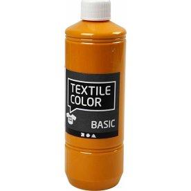 Tekstilmaling, 500 ml, sennepsgul