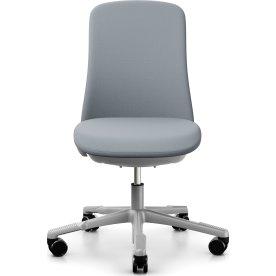 HÅG Sofi kontorstol, gråcomfort stof/sølv stel