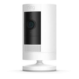 Ring Stick3BW trådløst overvågningskamera, hvid