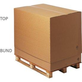 Top til palle transportkasse 1/1, 1195x795x600 mm