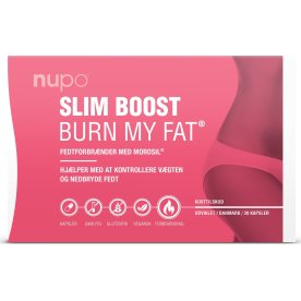 Nupo Slim Boost Burn My Fat, 30 kapsler