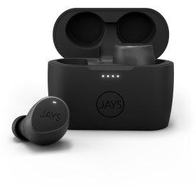 Jays m-Seven in-ear høretelefoner, sort