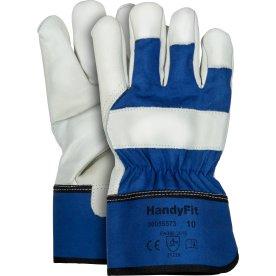 HandyFit oksehudshandske - Str. 10 (XL)