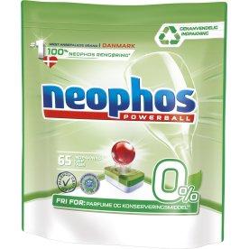 Neophos Powerball 0% Opvasketabs, 65 stk