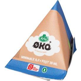 Økologisk Kaffemælk 0,5%, 20 ml, 100 stk. pr. krt.