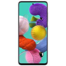 "Samsung Galaxy A51 128GB 6,5"" smartphone, sort"