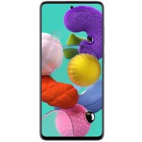 """Samsung Galaxy A51 128GB 6,5"""" smartphone, hvid"""