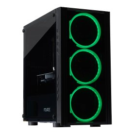 Brugt Gear4U Black Widow Gaming stationær pc, sort