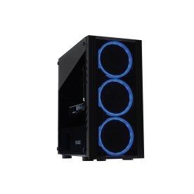 Brugt Gear4U Black Widow Gaming stationær pc, sort