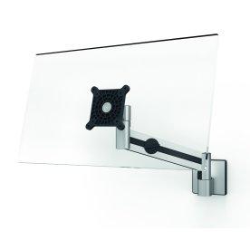 Durable skærmholder m. arm til 1 skærm, vægbeslag