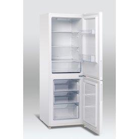 Scandomestic SKF 297 A++ køle-fryseskab, hvid
